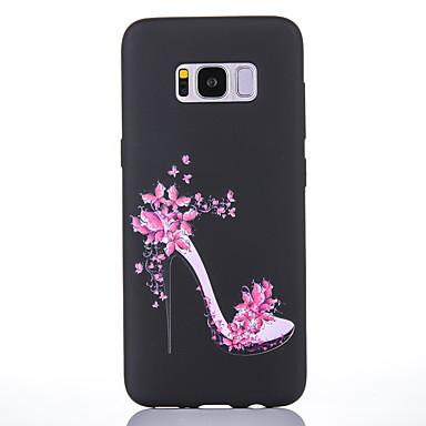 voordelige Galaxy S-serie hoesjes / covers-hoesje Voor Samsung Galaxy S8 Plus / S8 Mat / Patroon Achterkant Sexy dame Zacht TPU