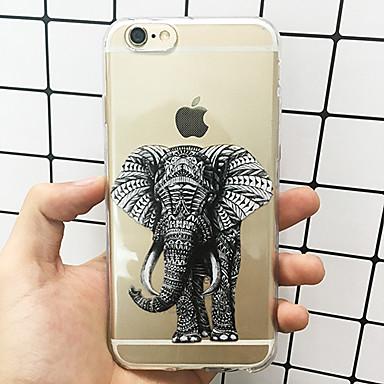 disegno 8 TPU iPhone 05800473 iPhone Per Fantasia X iPhone retro Ultra Per 8 sottile Morbido Custodia iPhone per iPhone Elefante Apple 8 Plus X B6qxxEz