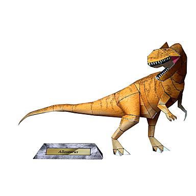3D-puzzels Bouwplaat Modelbouwsets Speeltjes Vierkant Dinosaurus DHZ Hard Kaart Paper Niet gespecificeerd Stuks