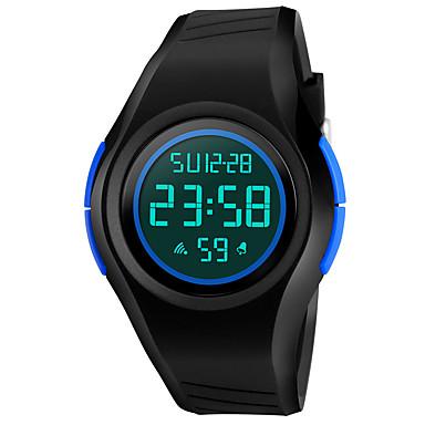 SKMEI Herrn Sportuhr Militäruhr Modeuhr Armbanduhr Digitaluhr Japanisch digital LED Kalender Chronograph Wasserdicht Alarm leuchtend