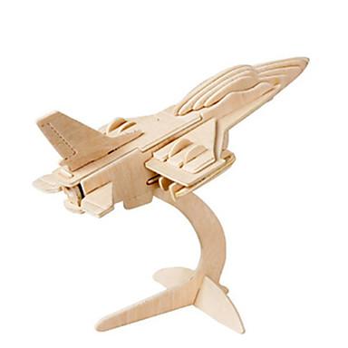 3D - Puzzle Holzpuzzle Holzmodelle Flugzeug Kämpfer Berühmte Gebäude Architektur 3D Heimwerken Holz Klassisch Unisex Geschenk