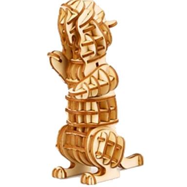 Puzzle 3D Puzzle Modele de Lemn Animale Reparații Lemn Lemn natural Pentru copii Unisex Cadou