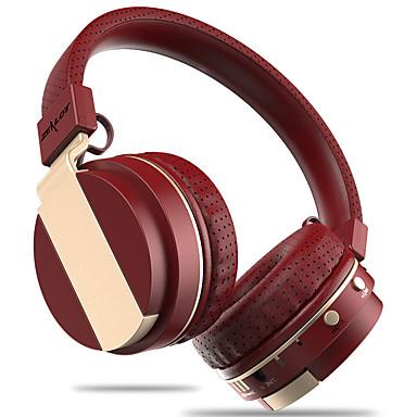 على الاذن عقال لاسلكي Headphones بلاستيك الهاتف المحمول سماعة مع التحكم في مستوى الصوت مع ميكريفون عزل الضوضاء سماعة
