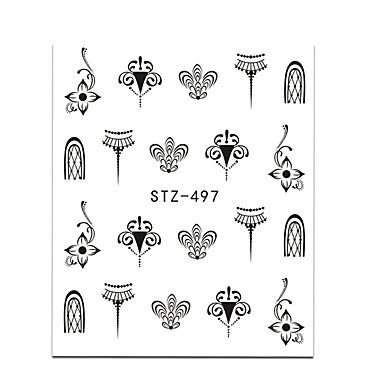 20pcs/set Wateroverdracht Sticker Nagel sticker Nail Art doe-het-zelfgereedschap Accessoire Nail Decals Stickers Nail Art Design