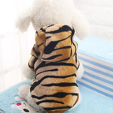 Hund Mäntel Hundekleidung Lässig/Alltäglich Tier Leopard