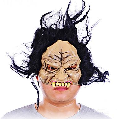 Halloween full face horror masca grimasa mascarada costum partid în mișcare temă rochie văzut masca fața capota