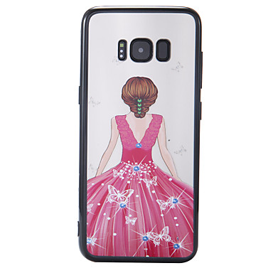 Maska Pentru Samsung Galaxy S8 Plus S8 Model Carcasă Spate Femeie Sexy Greu PC pentru S8 S8 Plus
