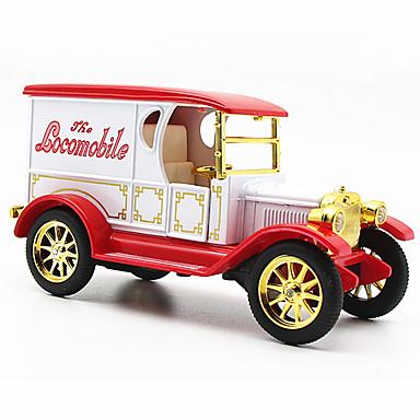 Speelgoedauto's Gegoten voertuigen Modelauto Terugtrekvoertuigen Klassieke auto Speeltjes Muziek en licht Automatisch Kunststoffen