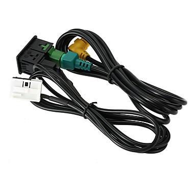 voordelige Noodgereedschap-Kkmoon usb aux audio kabel schakelaar plug voor vw passat b6 b7 cc touran polo facelift rcd510 / 310
