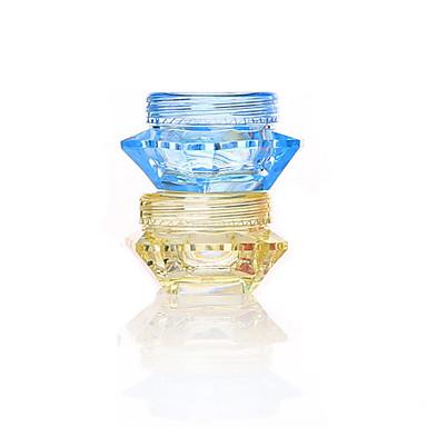 Butelki kosmetyczne Przechowywanie kosmetyków Akrylowy Jendolity kolor Okragłe