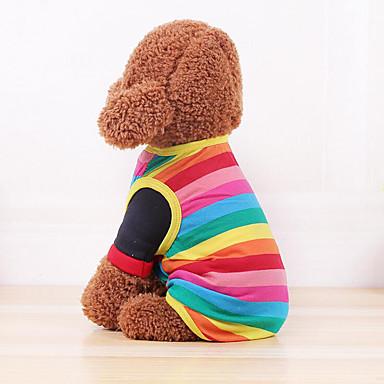 Câine Γιλέκο Îmbrăcăminte Câini Casul/Zilnic Dungi Costume Pentru animale de companie