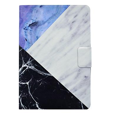 Maska Pentru Apple iPad Mini 3/2/1 iPad 4/3/2 iPad Air 2 iPad Air Titluar Card Cu Stand Întoarce Magnetic Model Carcasă Telefon Marmură