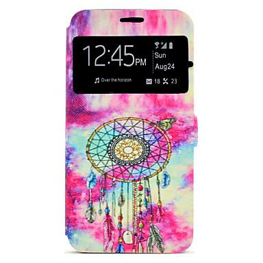 غطاء من أجل Samsung Galaxy J7 (2016) J5 (2016) حامل البطاقات مع حامل نموذج كامل الجسم ملاحق الأحلام قاسي جلد اصطناعي إلى J7 (2016) J5