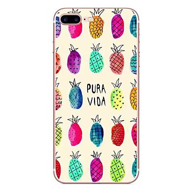 Hoesje voor apple iphone 7 7 plus hoesje hoesje fruit patroon hd geschilderd tpu materiaal zacht geval telefoon hoesje voor iphone 6s 6
