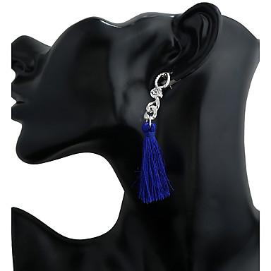Damen Ohrstecker Tropfen-Ohrringe Kreolen Anhänger Stil Quaste Metal Aleación Geometrische Form Schmuck Büro & Karriere Lässig/Alltäglich