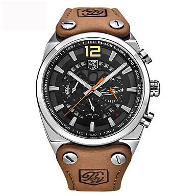 Herrn Sportuhr Militäruhr Modeuhr Einzigartige kreative Uhr Armbanduhren für den Alltag Chinesisch Quartz Kalender Wasserdicht Echtes