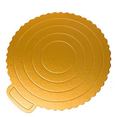 5 Piese Materiale pentru torturi Rotund Utilizare Zilnică Instrumentul de coacere
