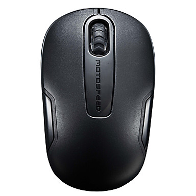 Motospeed g11 wireless mouse-ul oglindă material negru usb 1200dpi