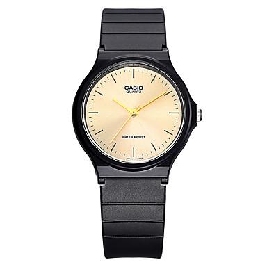 Casio Heren Dames Sporthorloge Modieus horloge Polshorloge Vrijetijdshorloge Japans Kwarts Waterbestendig Rubber BandCool