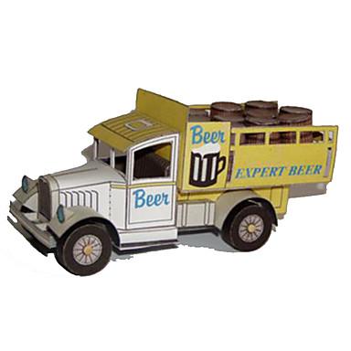 Speelgoedauto's 3D-puzzels Bouwplaat Vierkant Vrachtwagen Hard Kaart Paper Truck Jongens Unisex Geschenk