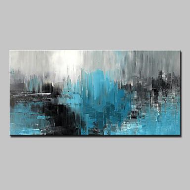 abordables Mural-Pintura al óleo pintada a colgar Pintada a mano - Abstracto Abstracto Modern Sin marco interior / Lienzo enrollado