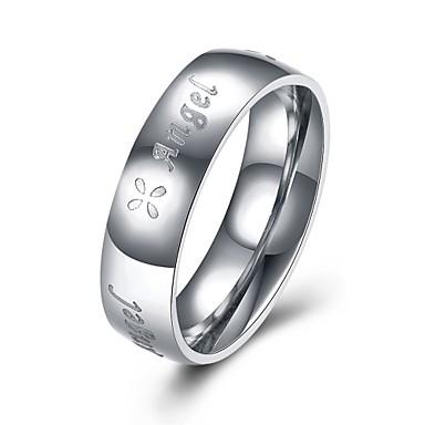 Pentru femei Crossover Inel - Articole de ceramică, Argilă Declarație, Personalizat, Lux 7 / 8 / 9 Argintiu Pentru Crăciun / Cadouri de Crăciun / Nuntă / Hipoalergenic