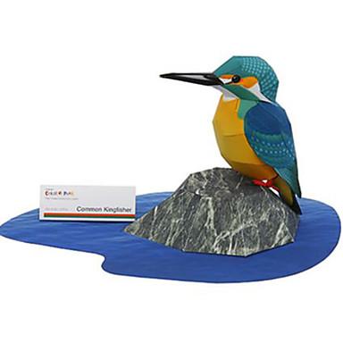 Puzzle 3D Modelul de hârtie Μοντέλα και κιτ δόμησης Pătrat Pasăre Animale Reparații Hârtie Rigidă pentru Felicitări Clasic Unisex Cadou