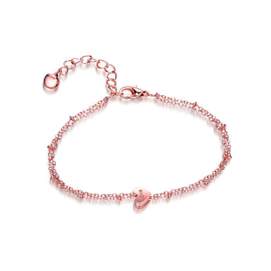 Pentru femei Brățări cu Lanț & Legături Brățări cu Talismane Bijuterii Prietenie Modă Circle Shape Inimă Bijuterii Petrecere / Seară Alte