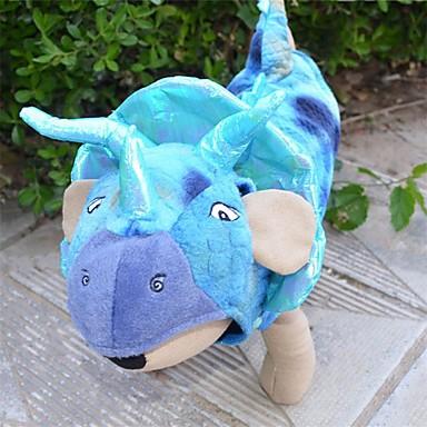 كلب ازياء تنكرية ملابس الكلاب حيوان أزرق زهري تيريليني كوستيوم للحيوانات الأليفة الكوسبلاي