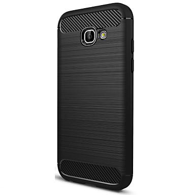 voordelige Galaxy A-serie hoesjes / covers-ASLING hoesje Voor Samsung Galaxy Mat Achterkant Effen Zacht Hiilikuitu voor A5 (2017)