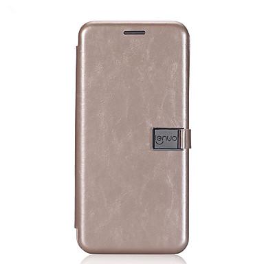Maska Pentru Samsung Galaxy S8 Plus S8 Titluar Card Întoarce Magnetic Carcasă Telefon Culoare solidă Greu PU piele pentru S8 Plus S8