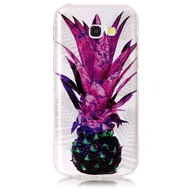 hoesje Voor Samsung Galaxy A5(2017) A3(2017) IMD Patroon Achterkant Fruit Glitterglans Zacht TPU voor A3 (2017) A5 (2017)