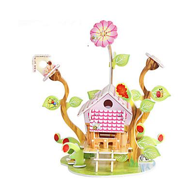 3D-puzzels Legpuzzel Speeltjes Beroemd gebouw Huis Architectuur 3D DHZ Hard Kaart Paper Niet gespecificeerd Unisex Stuks