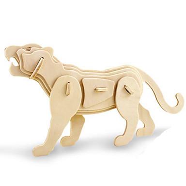 Robotime قطع تركيب3D تركيب النماذج الخشبية ديناصور حشرة حيوان 3D الحيوانات اصنع بنفسك خشب كلاسيكي للجنسين هدية