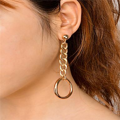 Damen Ohrringe baumeln Schmuck Anhänger Stil Modisch individualisiert Euramerican Kreisform Schmuck Für Alltag Normal Lässig/Alltäglich