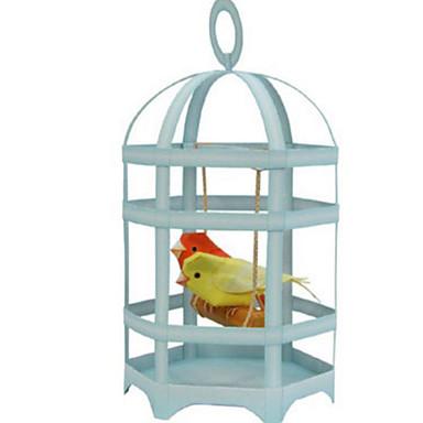 3D-puzzels Bouwplaat Papierkunst Modelbouwsets Vogel Parrot Simulatie DHZ Klassiek Kinderen Heren Geschenk