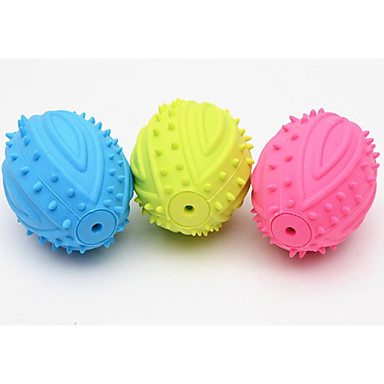 Kau-Spielzeug Quietsch- Spielzeuge Langlebig American Football Gummi Für Katze Hund