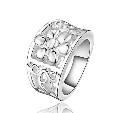 Dames Ring Kubieke Zirkonia Gepersonaliseerde Meetkundig Uniek ontwerp Tupsu Klassiek Vintage Tekojalokivi Standaard Hart Vriendschap