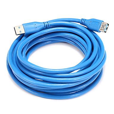 USB 3.0 Adaptor, USB 3.0 to USB 3.0 Adaptor Bărbați-Damă 5.0m (16ft)