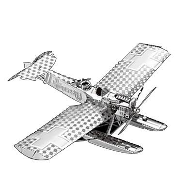 قطع تركيب3D تركيب معدني ألعاب طيارة 3D مواد تأثيث اصنع بنفسك كروم معدن غير محدد قطع