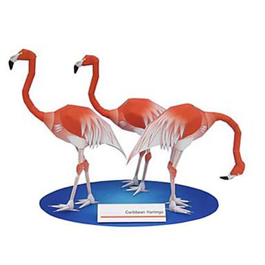 3D - Puzzle Papiermodel Spielzeuge Quadratisch Vogel Tiere Heimwerken Hartkartonpapier keine Angaben Stücke