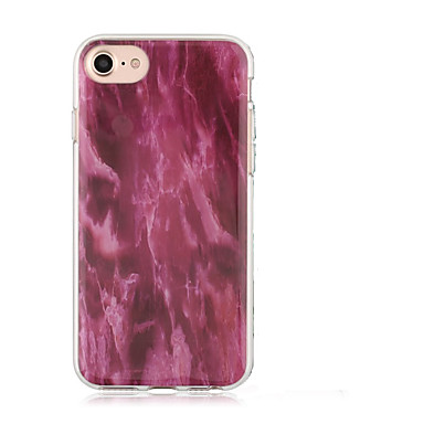 Geval voor apple iphone 7 plus iphone 7 iphone 6s plus iphone 6s cover imd patroon back cover case marmer soft tpu