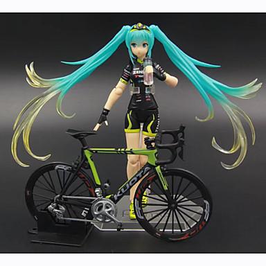 Anime Action Figures geinspireerd door Vocaloid Hatsune Miku 14 CM Modelspeelgoed Speelgoedpop