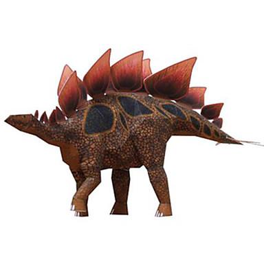 قطع تركيب3D نموذج الورق مجموعات البناء مربع ديناصور اصنع بنفسك ورق صلب كلاسيكي صبيان للجنسين هدية