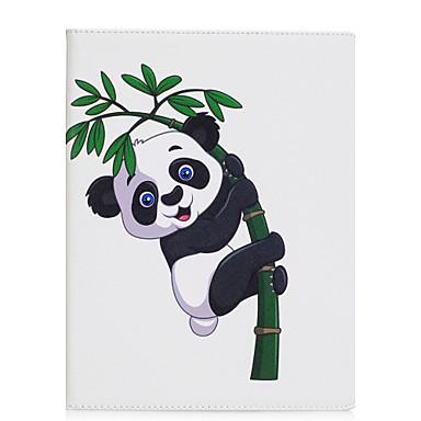hoesje Voor Apple iPad 4/3/2 iPad Air 2 iPad Air Origami Volledig hoesje Panda Hard PU-nahka voor iPad 4/3/2 iPad Air iPad Air 2 iPad Pro