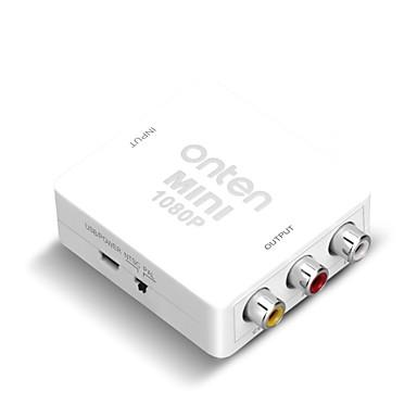HDMI 1.4 Converter, HDMI 1.4 to 3RCA Converter Vrouwelijk - Vrouwelijk