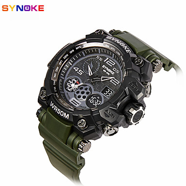 Herrn Sportuhr Militäruhr Kleideruhr Smart Watch Modeuhr Armbanduhr Einzigartige kreative Uhr Digitaluhr Chinesisch Quartz digital Alarm