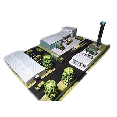 3D - Puzzle Papiermodel Papiermodelle Modellbausätze Architektur Simulation Heimwerken Hartkartonpapier Klassisch Kinder Jungen Unisex