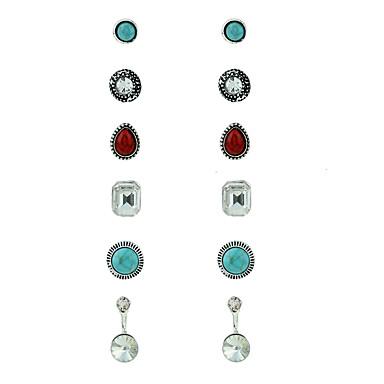 Pentru femei Cercei Stud Cercei Set Design Circular stil minimalist La modă Aliaj Metalic MetalPistol Aliaj Bijuterii PentruCasul/Zilnic