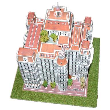 3D-puzzels Bouwplaat Modelbouwsets Papierkunst Speeltjes Kasteel Beroemd gebouw Architectuur 3D DHZ Unisex Stuks